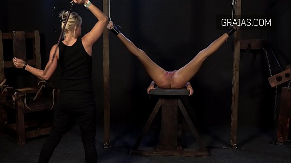 A most b. whipping of a beautiful shaved pussy