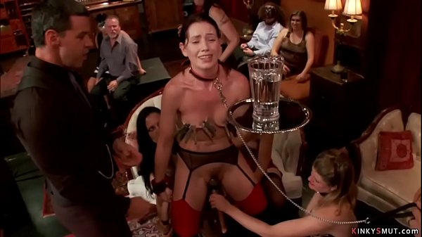 Anal group sex at bdsm party