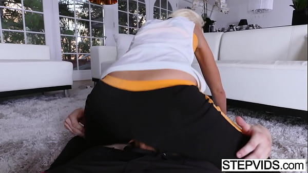 Stepmom Marie Mccray seducing her stepson
