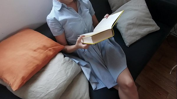 Teen m. while reading (Full video on Xvideos Red) Thumb
