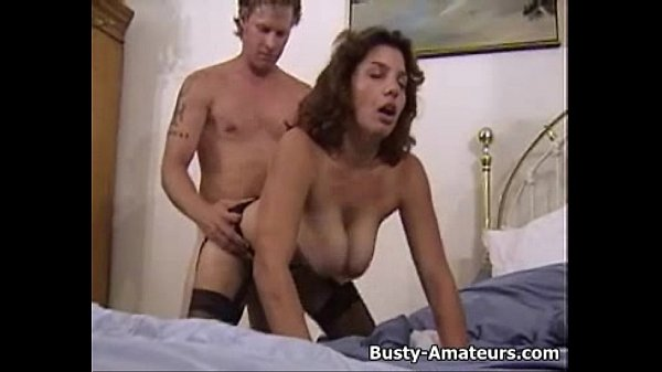 Busty Serena getting slammed by white cock