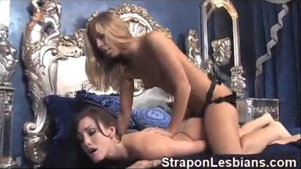 Brunette girl strapon fucked in the ass for rent