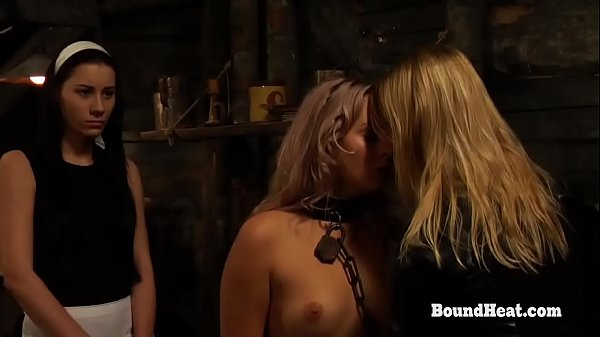 The Submission of Sophie: Slave In Chains Groped By Mistress