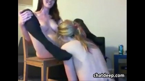 Teen Lesbian Nerds Having Fun