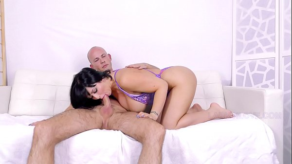 Big Tit Brunette Cum Slut Begs For Bareback Creampie Larkin Love and Alex Saint
