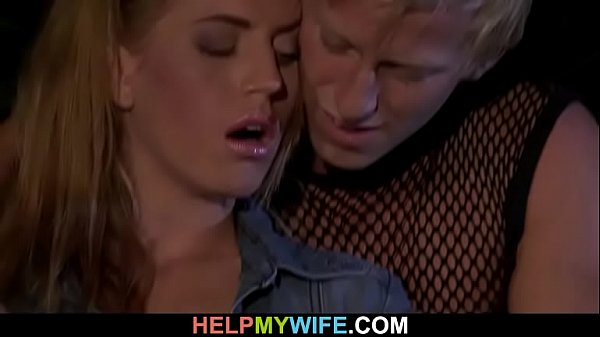 Old man calls big-cocked guy to please his wife