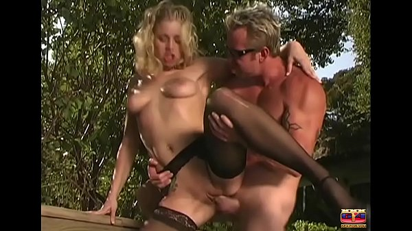 Naughty blonde giving to the businessman Thumb