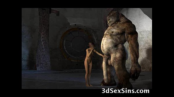 Monsters Fuck 3D Babes!
