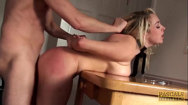 PASCALSSUBSLUTS - Busty Victoria Summers fed cum and BDSM