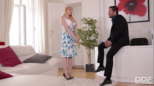 Busty Angel Wicky gets Titty & Ass Fucked at an Interview