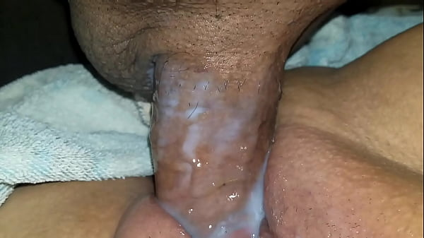 Dipping my cock in her wet creamy pussy