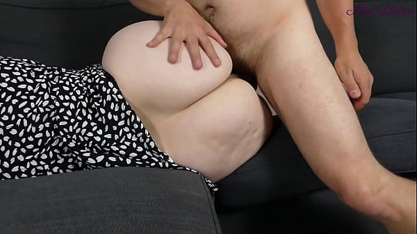 My stepmom this milf lets me fuck her huge ass because i'm virgin