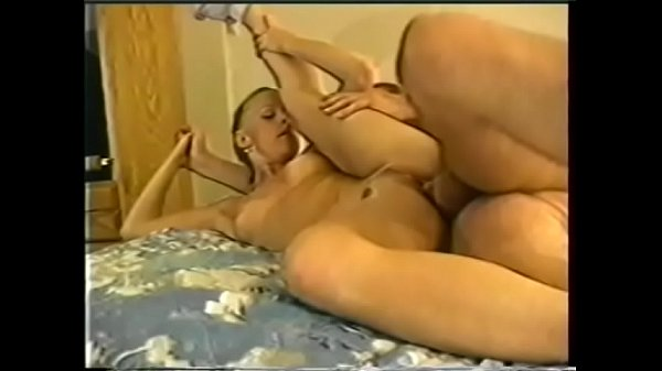 Nasty young blonde Kelli Sparks likes when her experienced lover drops his load on her ass after banging her wet twat in doggystyle