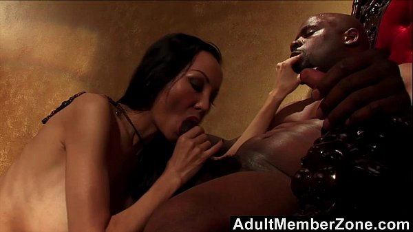 Asian Witch Ange Venus Charms Black Man And Fuc...