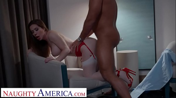 Naughty America Bianca Burke bangs guy she met ...