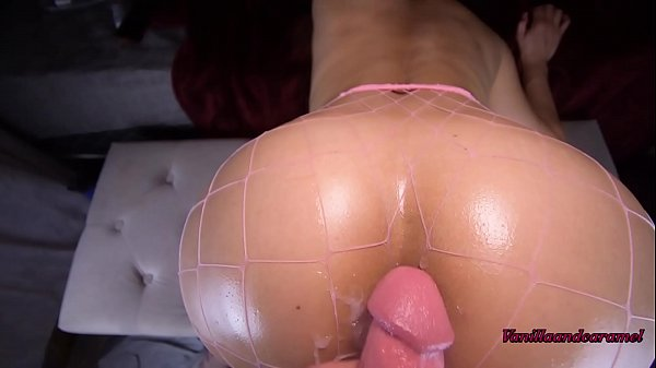 Amateur Latina MILF Bounces Big Oiled Ass on Roommate's Big Cock Vanillaandcaramel