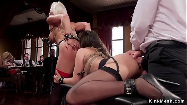 Anal and oral sex at bdsm party Thumb