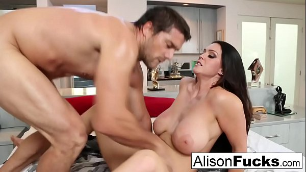 Sexy rough fuck with Alison Tyler and a hung spanish stud