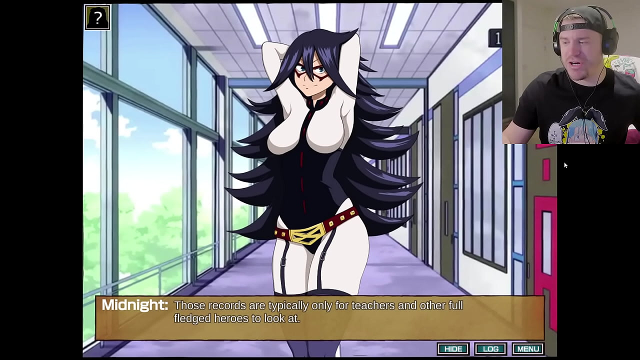 The Banned Kissing Scene From My Hero Academia (Hero Cummy) [Uncensored]