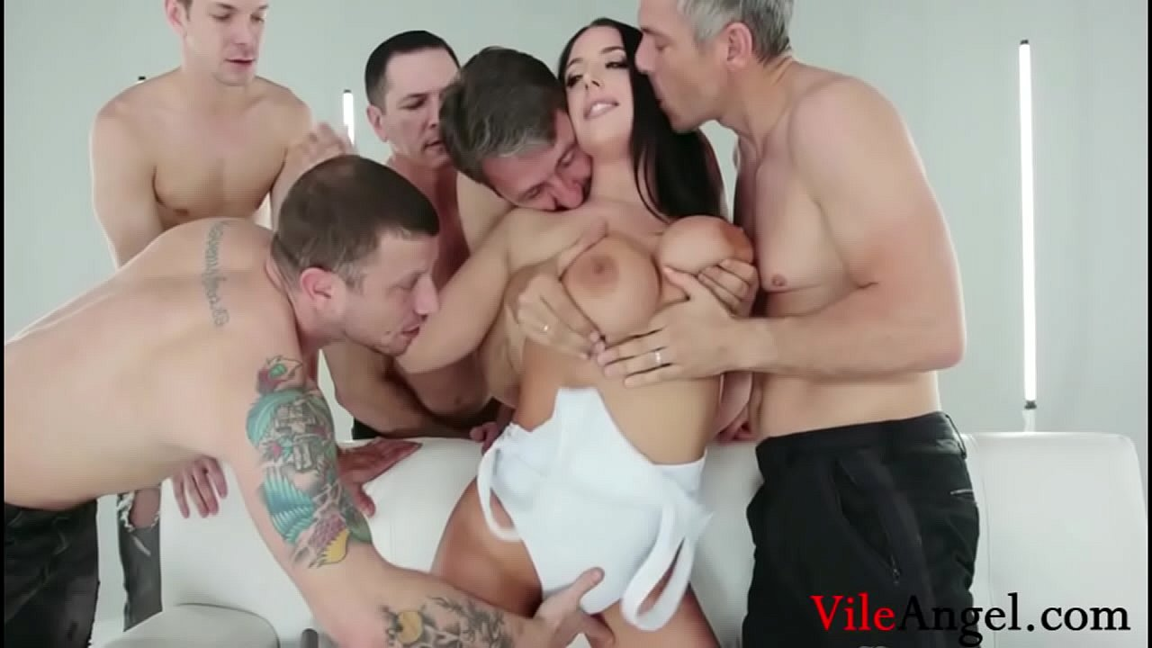 Angela White First Anal
