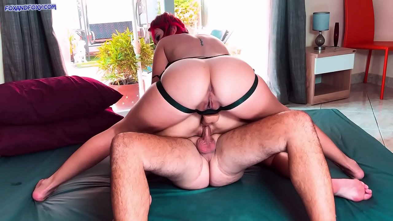 Busty Brunette Threesome Mmf