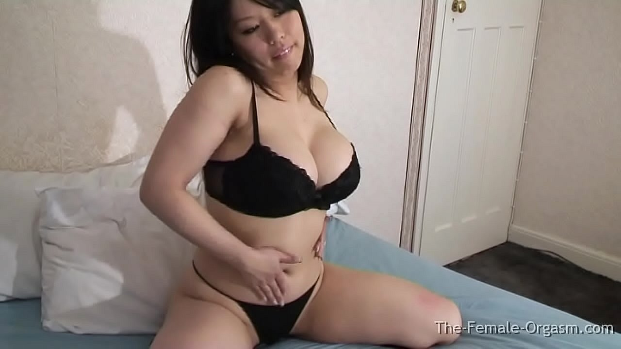 Curvy Asian Babe With Big Tits Masturbates Her Hard Button Clit To A Soft Pussy Twitching Finish  thumbnail