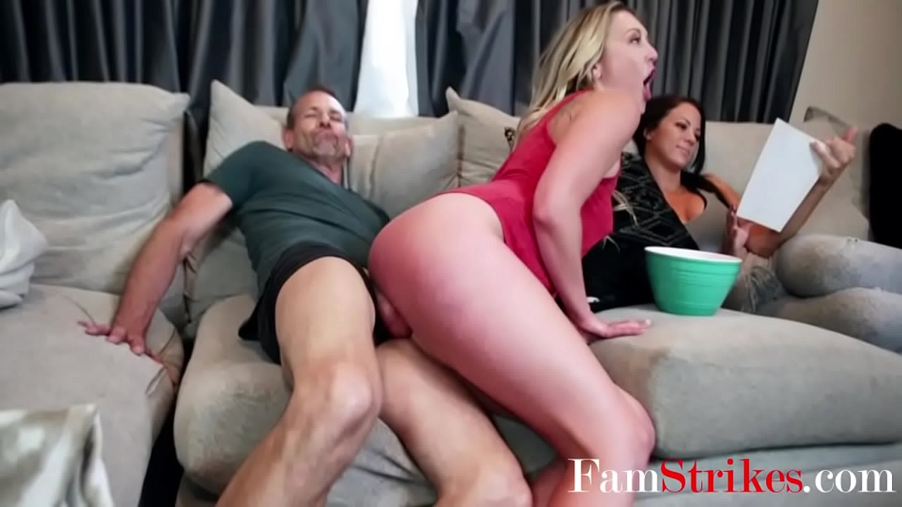Dads Friends Gangbang Daughter