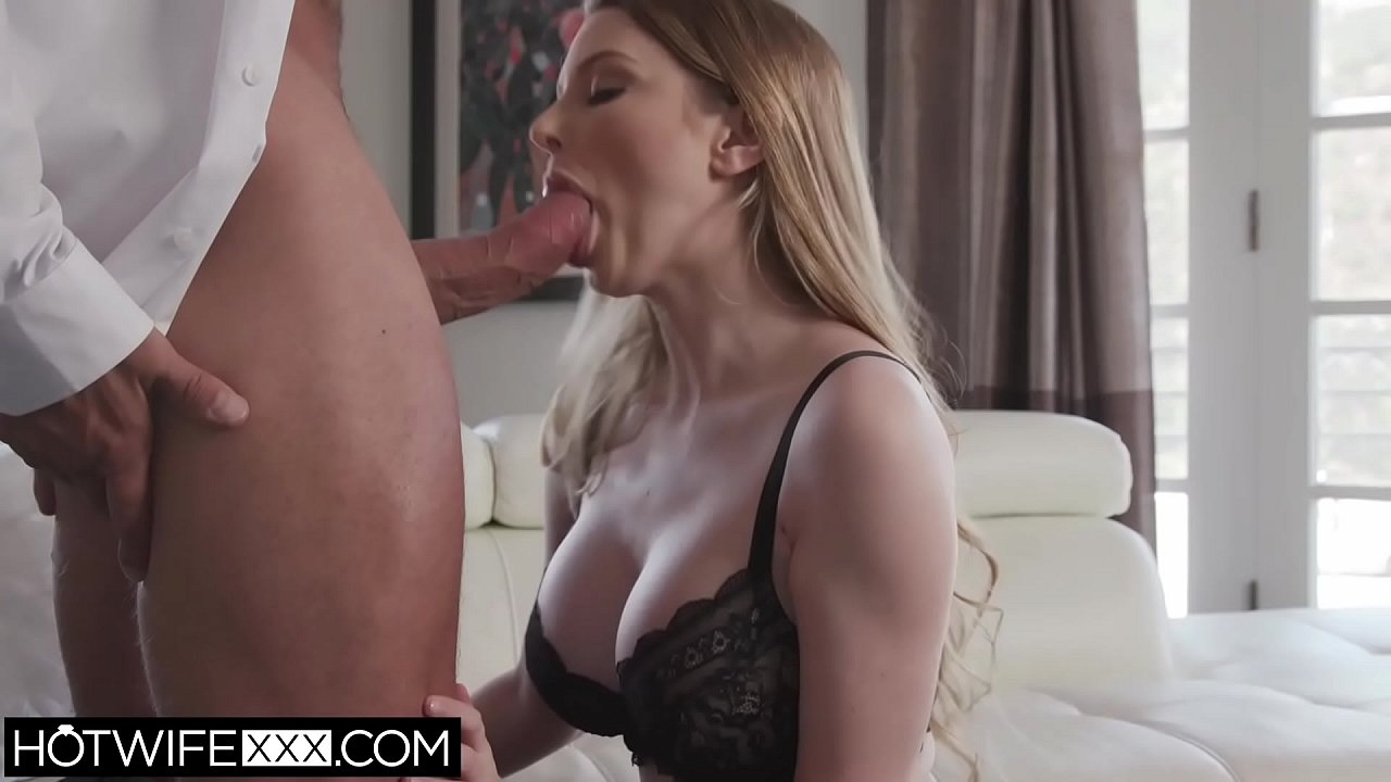 Husband Watches Wife Blowjob