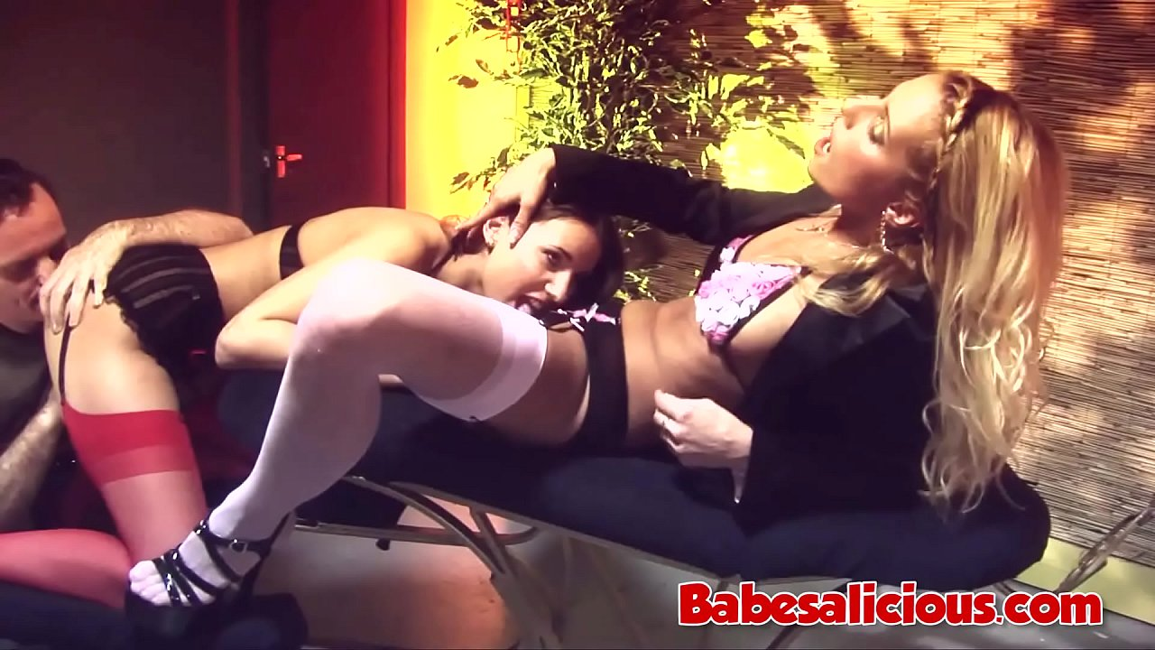 Claudia Rossi - Melissa Black Threesome with a Big Cock