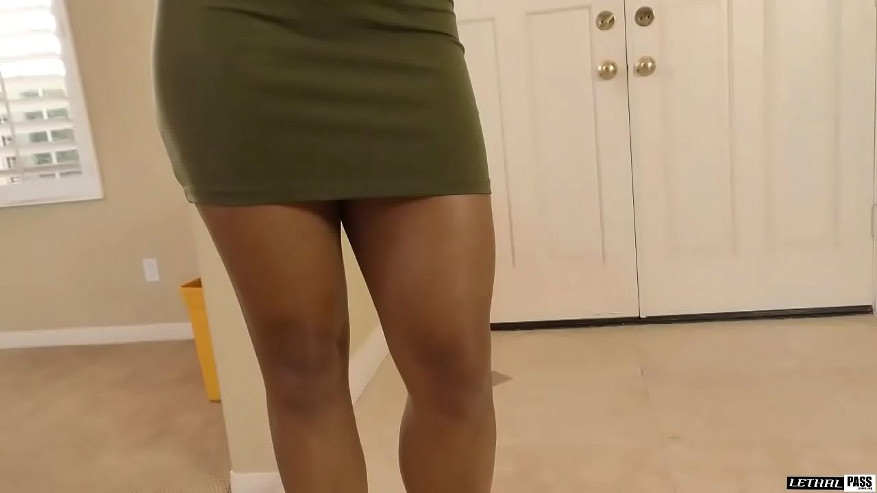 Harley Dean is a delicious chocolate beauty that needs her ass rubbed and pussy loved !