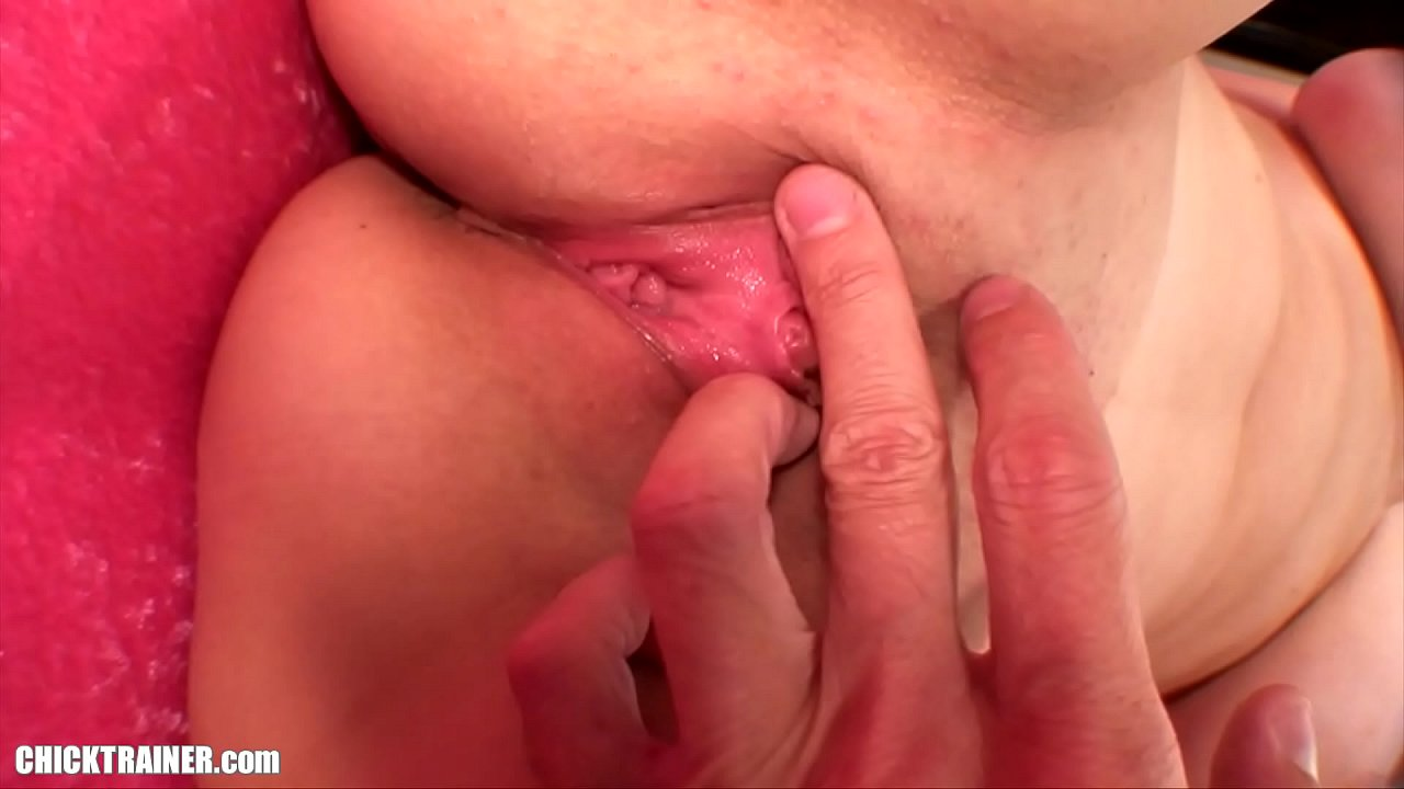 Cum Scooped out of Pussy with a Spoon. Busty Britney Swallows her own Creampie! Big Amateur Tits & Pink High Heels