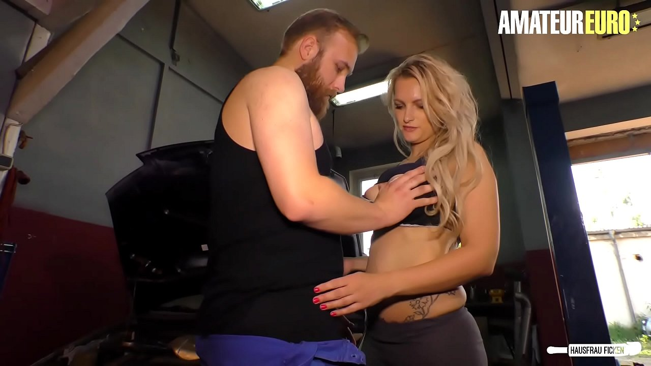 AMATEUR EURO - German MILF Housewife Mika Olsson Gets Nailed By Horny Mechanic Guy