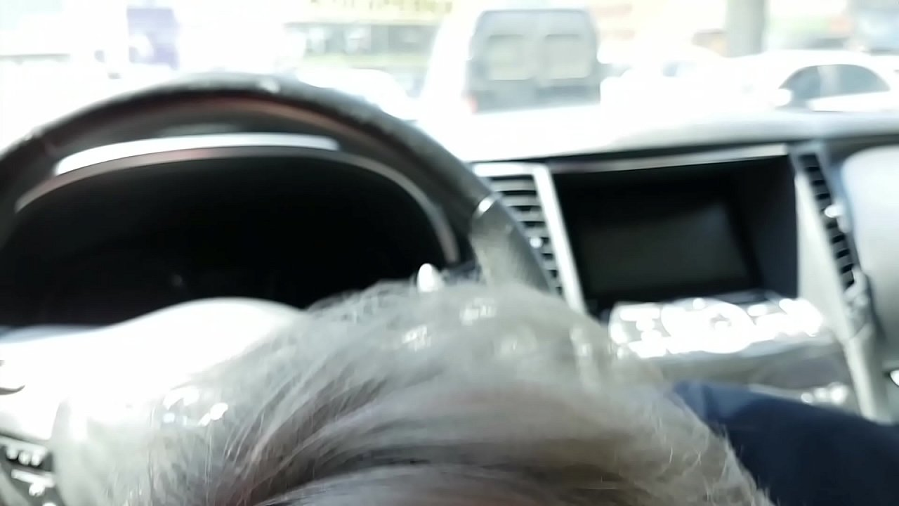 Public blowjob with cum swallowed and nasty talking at the parking