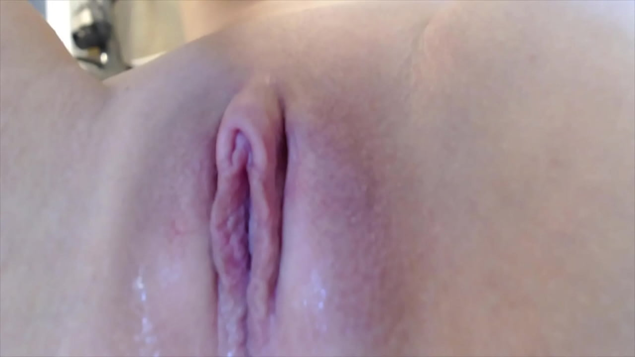 Young Wet Pussy Close Up