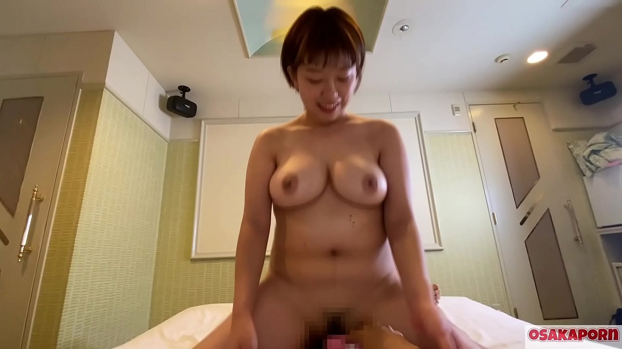 Thick Japanese Woman Has a Great Pair of Juicy Tits