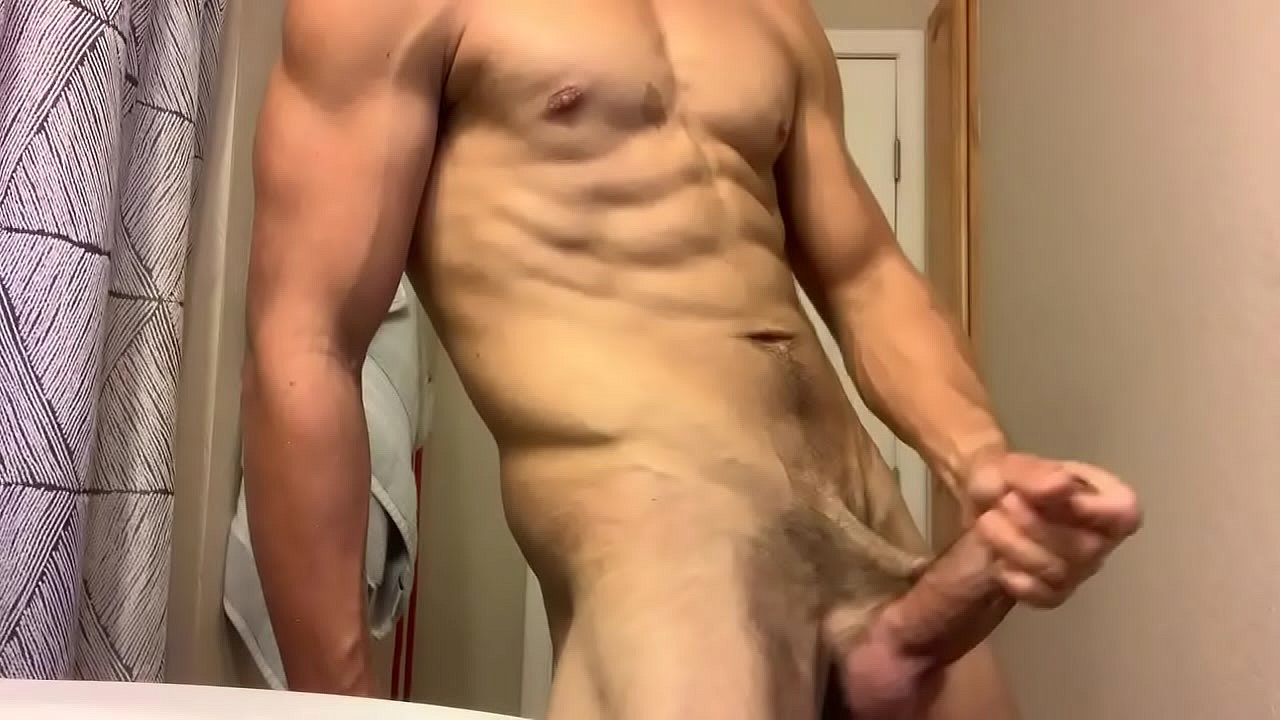 Latino Jerking Off Solo