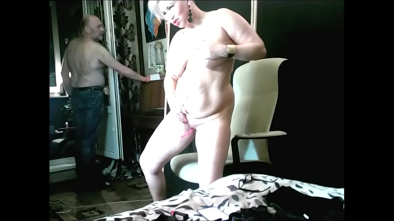 Nude pic she spanks his balls