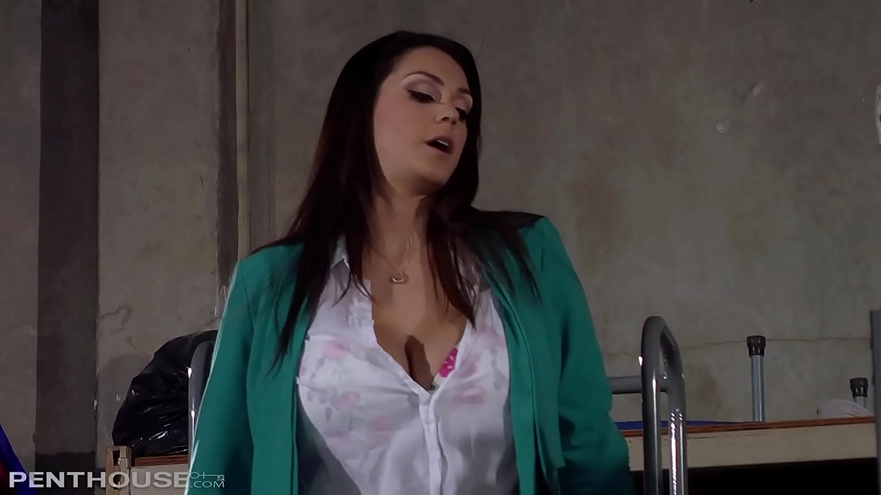 Alison Tyler slurps on a thick schlong and goes wild riding cock cowgirl