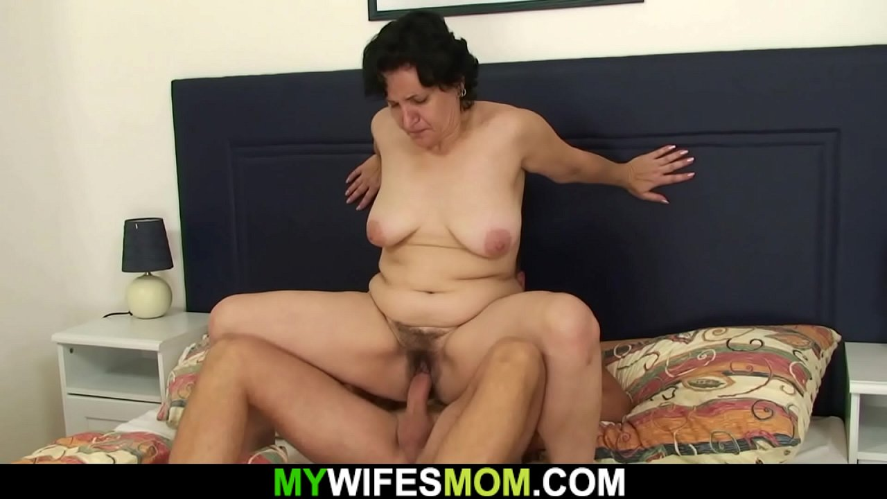 Her Old Mother Sucks And Rides His Cock