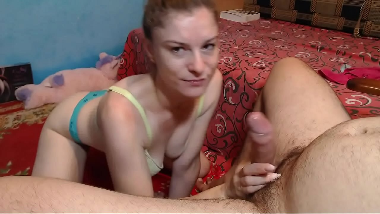 step-brother teaches his step-sister how to suck dick and behave with her lover.