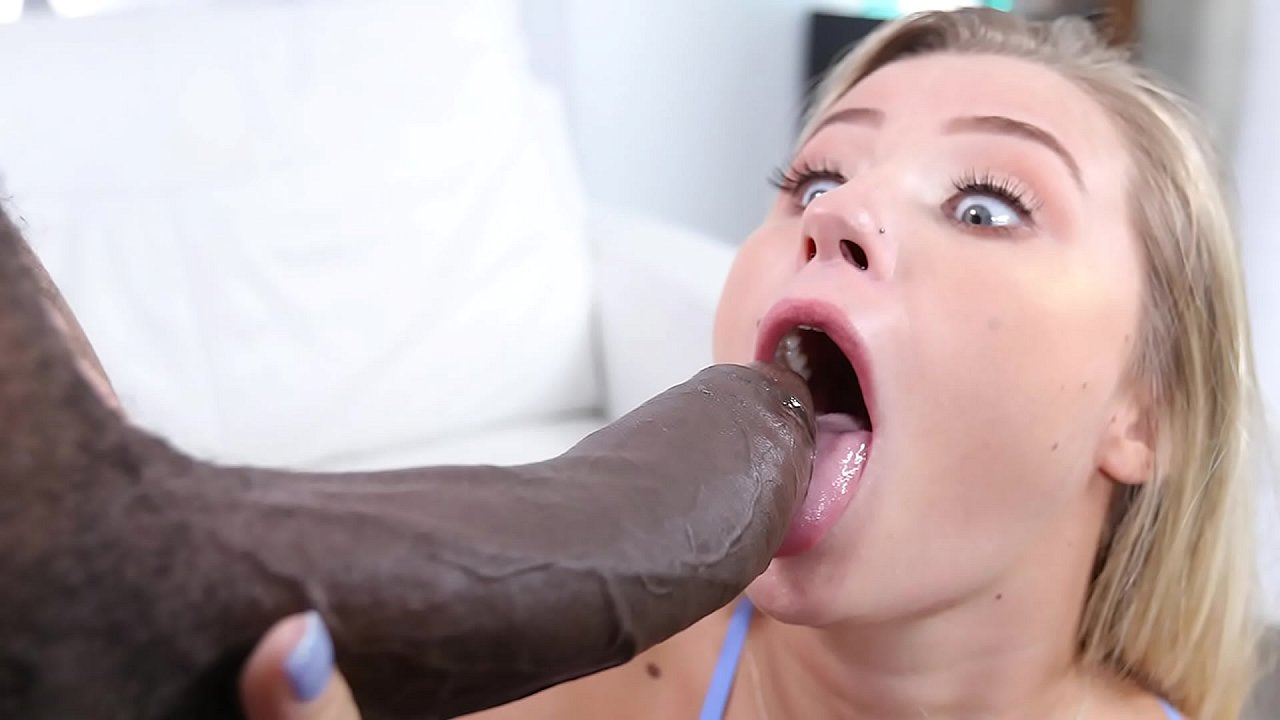 White Teen First Big Cock