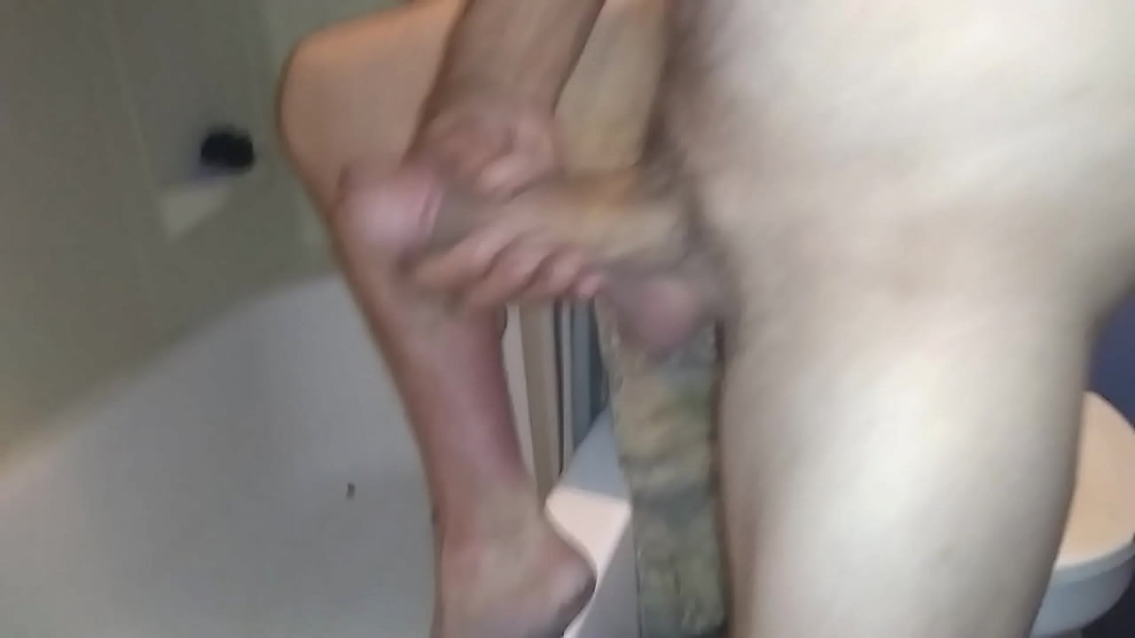19 Yr Old Squirting My Cock