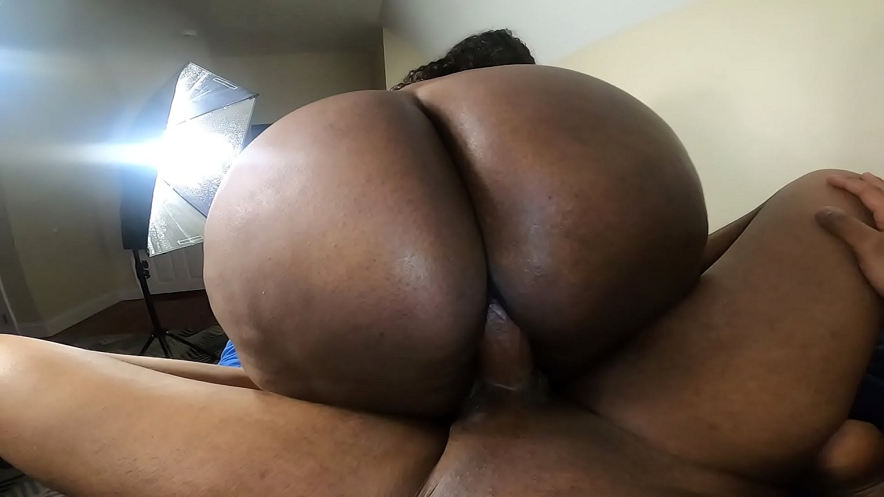 Big Black Ass Reverse Cowgirl