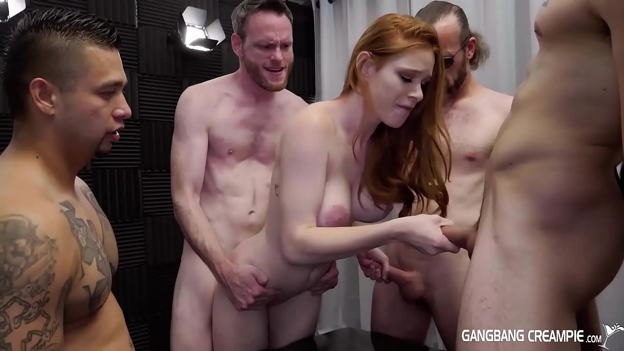 Old Young Creampie Gangbang