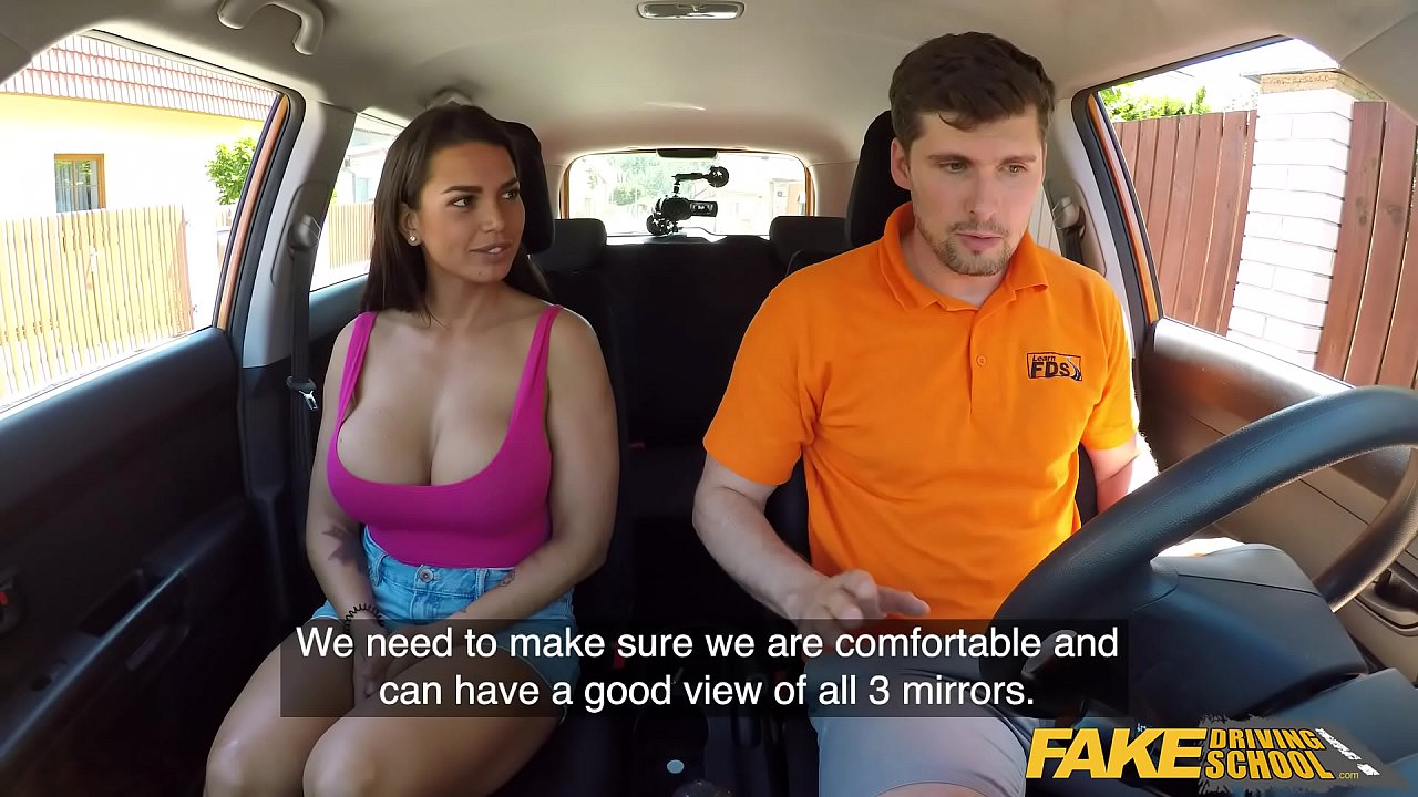 Big Tits Fake Driving School