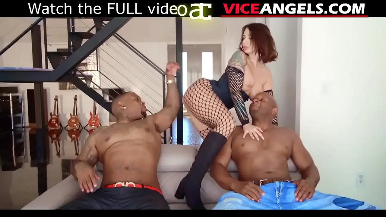 Slutty Ivy Lebelle taking black cocks in DP bang (Prince Yahshua ...