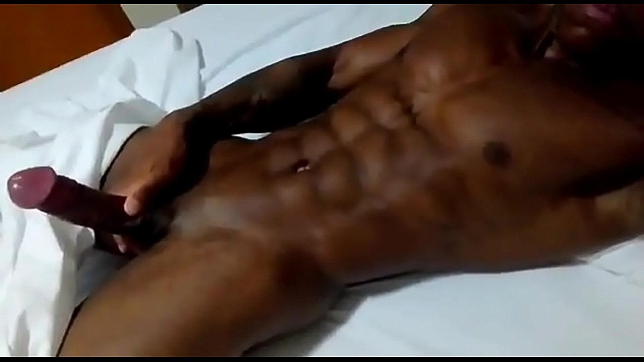 Black Shemale Fucks Guy Hard