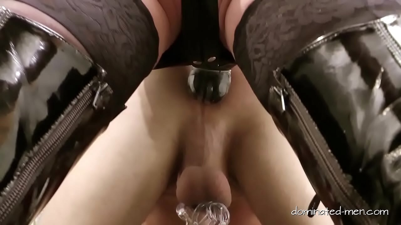 Chastity Slave Ass Licking