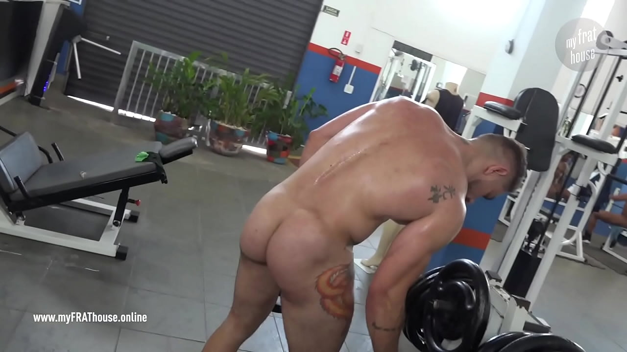Naked In Gym