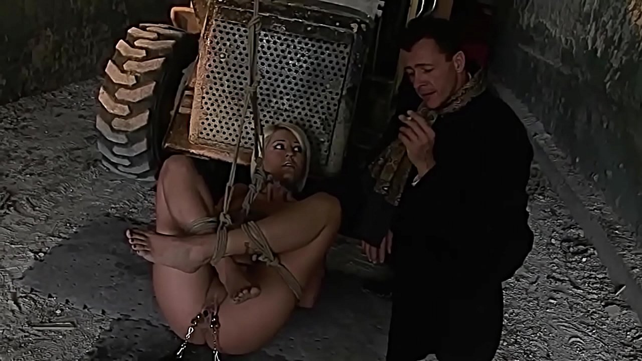 Gorgeous victim gets abused outdoor. Part 1. Slow start up.  thumbnail